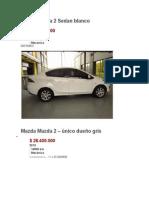 Carro Mazda