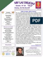 Boletín Rotary N° 39 Ene Feb Mar 2015