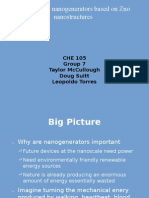 Piezoelectric Nanogenerators Based on Zno Nanostructures Akdnfldl