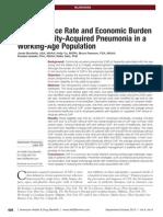Milliman Report on Burden of Community Acquired Pneumonia