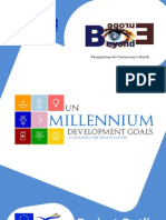Project Outline - UN Millennium Development Goals - A Challenge for Today's Youth