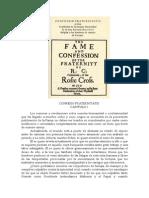 Manifesto RC - Confessio Fraternitatis