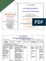 Plano de Actividades 09-10  BE - Ag Tábua