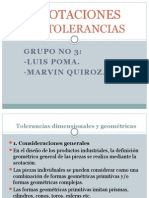 Acotaciones de Tolerancias II