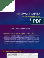 Reforma Tributaria 1739 de Diciembre de 2014