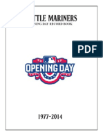Opening Day Record Book (2015)