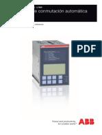 Control de equipo auxiliar generador electrico