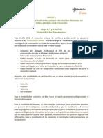 2. ANEXO 1 Instrucciones de Participación XIII Encuentro Regional