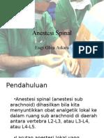 Anestesi Spinal Esqy