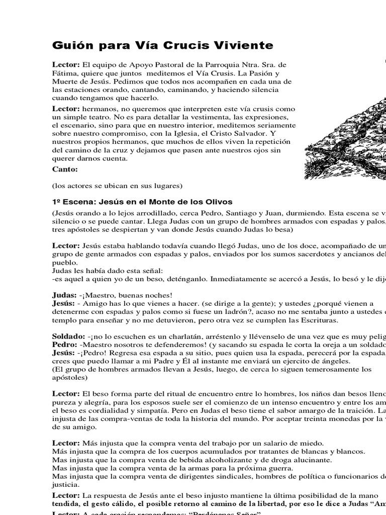 De viviente guion pdf viacrucis