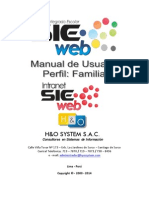 Manual SieWeb Intranet - Padres de Familias