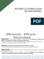 Importancia y Uso de Indicadores en Gobierno Electronico