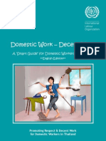 Domestic Work-Decent Work