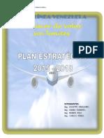 Plan Estrategico Aerolinea Venezolana (Entrega Final)
