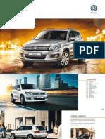 Ficha Técnica Volkswagen Tiguan