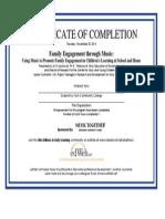 family engagement through music - edweb, webinar