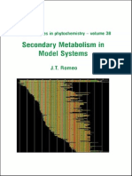 Secondary Metabolism in Model Systems-Elsevier Science (2004)