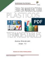 plasticos termoestables