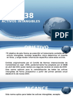 NIC 38 - Activos intangibles
