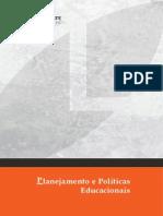 Livro Planejamento e Politicas Educacionais Final
