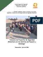 2  Sistematización de la experiencias  TCP-PER-2005 FAO-CARE