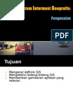 01 Pengenalan GIS