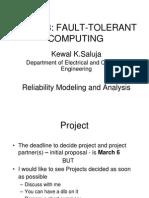 Realiability Modeling -1