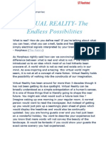 Virtual Reality-Knowledge Wise