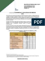 INEGI Cuentas Económicas y Ecológicas