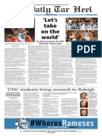 The Daily Tar Heel for April 6, 2015