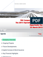 TRC Construction Opportunity Day