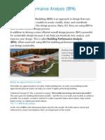 1-Building Performance Analysis