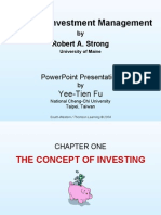 Practical Investment Management by Robert.A.Strong ch01 slides