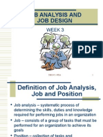 Chapter 3 - Job Analysis and Job Design (1)