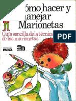 Como Hacer y Manejar Marionetas - Violet Philpott-bn
