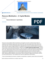 Resource Mobilization – 2_ Capital Markets - InSIGHTS