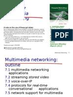 Multimedia Networkingchap7