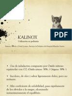 kalinox en pediatría