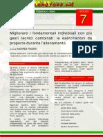Migliorare i Fondamentali Individuali Con Più Gesti Tecnici Combinati Le Esercitazioni Da Proporre Durante l'Allenamento