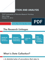 Data Collection & Analysis Presentation