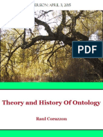 Theory and History of Ontology