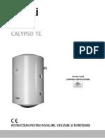 Instructiuni de Instalare Utilizare Si Intretinere Boiler Electric Ferroli Calypso Te