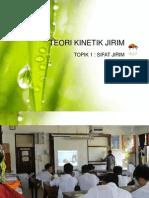 TOPIK 1 - Teori Kinetik Jirim
