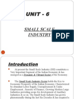 Small Scale Industries Unit 3