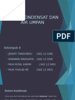 Sistem Kondensat PLTD