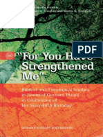 For You Have Strengthened Me