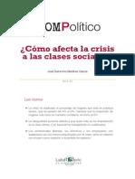 Como afecta la crisis a las clases sociales