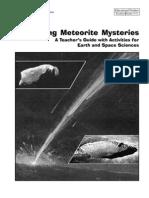 Exploring Meteorite Mysteries