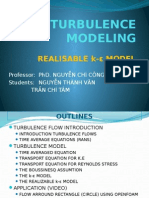 Turbulence Modeling Slide
