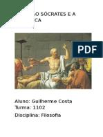 Relação Sócrates e a Maiêutica